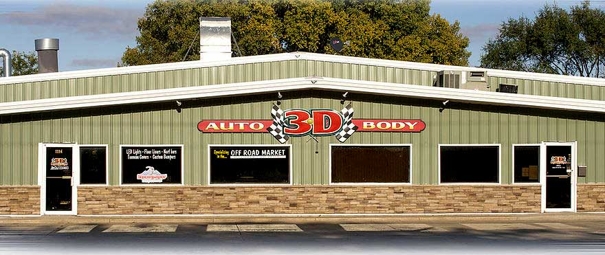 3-D Autobody Building in Norfolk NE
